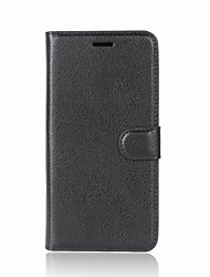 cheap -Case For OnePlus One Plus 5 / OnePlus 5T / One Plus 3T Wallet / Card Holder / with Stand Full Body Cases Solid Colored Hard PU Leather