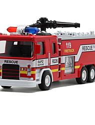 Недорогие -Игрушечные машинки Шлейф Пожарные машины моделирование Металлический сплав для Универсальные