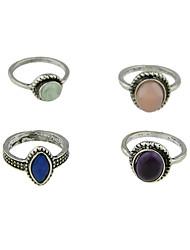 cheap -Ring Silver Alloy Basic 6 / Women's