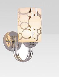 Недорогие -металлический / Заглушка и потолок Hugger / Легкий Настенные светильники Металл настенный светильник 220 Вольт / 110 Вольт 60W