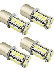 cheap -4pcs 1156 / 1157 Car Light Bulbs 2 W SMD 5050 200 lm LED Exterior Lights