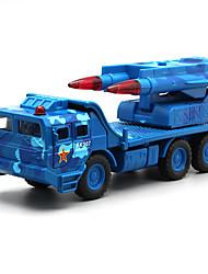 abordables -Petites Voiture Modèle de Voiture Camion Véhicule Militaire Camion Simulation Musique et Lumière Unisexe Jouet Cadeau