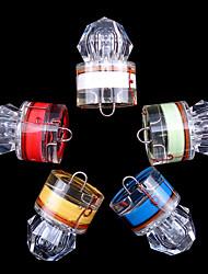 Недорогие -5 шт. Подводное освещение Освещение для рыбалки Светодиодная лампа подводный Водонепроницаемый Алмазное изображение Рыбалка