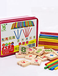 cheap -Educational Flash Cards Montessori Teaching Tool Building Blocks Math Toy Educational Toy pcs Education Cool Kid's Toy Gift