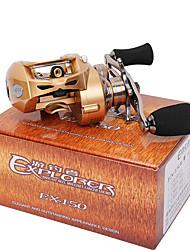 cheap -Fishing Reel Baitcasting Reel 7.0:1 Gear Ratio+9 Ball Bearings Left-handed Bait Casting / Lure Fishing - EX150-L