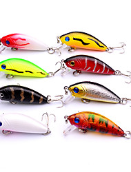 cheap -8 pcs Fishing Lures Hard Bait Crank Lure Packs Easy to Use Floating Sinking Bass Trout Pike Sea Fishing Bait Casting Spinning Plastic / Freshwater Fishing / Bass Fishing / Lure Fishing