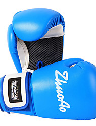 cheap -Boxing Bag Gloves Pro Boxing Gloves Boxing Training Gloves For Boxing Full Finger Gloves Lightweight Warm Padded Faux Leather Black Red Blue