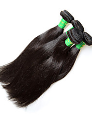 cheap -Remy Human Hair Remy Weaves Straight Indian Hair 400 g 1 Year