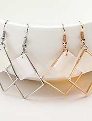 cheap -Women's Drop Earrings Geometrical Ladies Dangling Shell Earrings Jewelry Gold / Silver For Christmas Gifts Wedding Party Special Occasion Anniversary Birthday