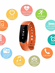 cheap -Men's Sport Watch Fashion Watch Dress Watch Digital Silicone Multi-Colored 30 m Water Resistant / Waterproof Heart Rate Monitor Creative Digital Charm - Orange Purple Blue / Pedometers / Smartwatch