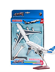 cheap -Model Building Kit Pull Back Vehicle Plane Plane / Aircraft Car Simulation Unisex Toy Gift