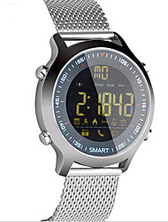 cheap -E18 Smartwatch Android iOS Bluetooth Sports Waterproof Calories Burned Long Standby Stopwatch Call Reminder Activity Tracker Sedentary Reminder Alarm Clock / Pedometers / Camera Control / >480
