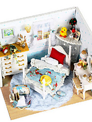 cheap -Model Building Kit DIY Furniture Wooden Classic Unisex Toy Gift