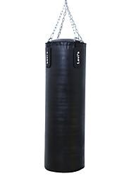 Недорогие -Боксерская груша принуждать Для Тхэквондо Бокс Каратэ Тренировка в тренажерном зале Боевые искусства Прочный заполненный Силовая тренировка 1 pcs Черный