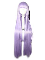 cheap -Lolita Wigs Sweet Lolita Dress Purple Lolita Lolita Wig 40 inch Cosplay Wigs Solid Colored Wig Halloween Wigs