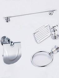 Недорогие -1 комплект Высокое качество Латунь Набор аксессуаров для ванной / Ванная комната
