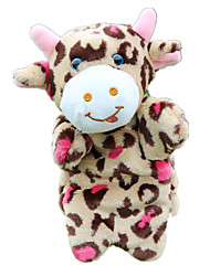 cheap -Finger Puppets Puppets Hand Puppets Cow Cute Animals Lovely Plush Fabric Plush Imaginative Play, Stocking, Great Birthday Gifts Party Favor Supplies Girls' Kid's