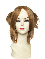 cheap -cosplay wig synthetic fiber wig short kinky straight heat wig anime party wig