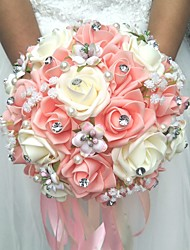 "cheap -Wedding Flowers Bouquets Wedding Polyester 7.87""(Approx.20cm)"