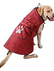 cheap -Dog Coat Sweatshirt Winter Dog Clothes Red Blue Costume Corduroy Nylon Solid Colored Casual / Daily Sports Fashion S M L XL XXL XXXL