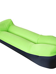 cheap -Air Sofa Inflatable Sofa Sleep lounger Air Bed Outdoor Camping Waterproof Portable Fast Inflatable - Polyester Taffeta Fishing Beach Camping for 1 person Spring Summer Fall Bule / Black Black