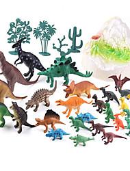 cheap -Dragon & Dinosaur Toy Dinosaur Figure Triceratops Jurassic Dinosaur Velociraptor Tyrannosaurus Rex Plastic 26 pcs Kid's Party Favors, Science Gift Education Toys for Kids and Adults
