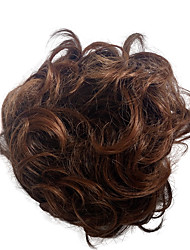 cheap -chignons curly synthetic wig hair extension bridal updo pony tail for women