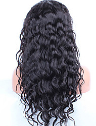 cheap -water wave lace front human hair wigs for black women pre plucked hair peruvian remy hair wig with bleached knots