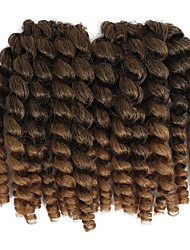 cheap -Braiding Hair Classic Pre-loop Crochet Braids Hair Accessory Human Hair Extensions Human Hair 20 roots / pack Hair Braids Ombre Jamaican Bounce Hair Daily