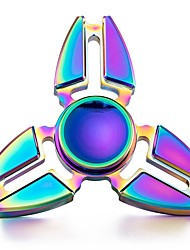 cheap -Fidget Spinner Hand Spinner Spinning Top Stress and Anxiety Relief Focus Toy Office Desk Toys Ring Spinner Metalic Toy Gift