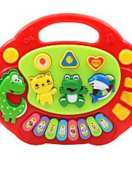 Недорогие -Аксессуары для кукольного домика Электронная клавиатура Обучающая игрушка Животные Веселье Пластик для Детские Девочки