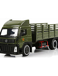 cheap -Toy Car Pull Back Vehicle Truck Military Vehicle Tank Car Truck Unisex Toy Gift