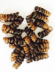cheap -Carrie curl hair extension 10inch kanekalon Saniya Curlkalon crotchet hair synthetic braid20roots/pack 5packs make head