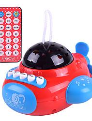 abordables -Accessoire de Maison de Poupées Avion Télécommande Plastique Enfant Jouet Cadeau