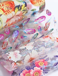 cheap -holographic-flower-starry-nail-foil-4-100cm-colorful-feather-floral-transfer-sticker-manicure-nail-art-decoration