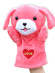 cheap -Puppets Hand Puppet Cute Lovely Dog Tactel Plush Kid's Girls' Toy Gift