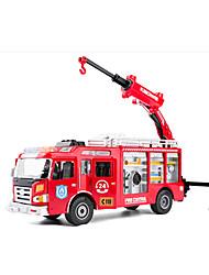 Недорогие -KDW Фермерская техника Пожарная машина Игрушечные грузовики и строительная техника Игрушечные машинки Машинки с инерционным механизмом Детские Игрушки на солнечных батареях