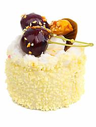 cheap -Toy Food / Play Food Model Building Kit Food Cake Dessert lifelike Child Safe Plastic Unisex Toy Gift