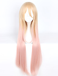 cheap -Cosplay Cosplay Cosplay Wigs Men's Women's 40 inch Heat Resistant Fiber Golden Anime