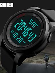cheap -Men's Sport Watch Military Watch Smartwatch Quartz Digital Silicone Multi-Colored 50 m Calendar / date / day Creative Cool Digital Charm Classic Casual Fashion Dress Watch - Black Green Blue Two