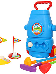 Недорогие -Мячи Детский гольф Детские игры с ракеткой Гольф Пластик Детские Игрушки Подарок