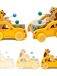 Недорогие -Каталки для малышей Ролевые игры Игрушка Сортировщика Формы Барабанная установка Животные Натуральное дерево Детские