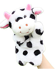 cheap -Finger Puppets Puppets Hand Puppets Cow Cute Animals Lovely Plush Fabric Plush Imaginative Play, Stocking, Great Birthday Gifts Party Favor Supplies Kid's
