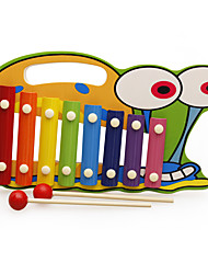 cheap -Xylophone Building Blocks Dollhouse Accessory Baby Music Toy Fun Wooden For Kid's Boys'