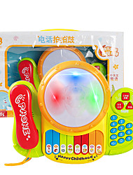 cheap -Dollhouse Accessory Toy Phone Electronic Keyboard Baby Music Toy Fun Plastics for Kid's