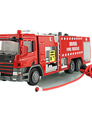 cheap -KDW Toy Car Pull Back Vehicle Train Farm Vehicle Fire Engine Vehicle Train Car Fire Engine Unisex Toy Gift