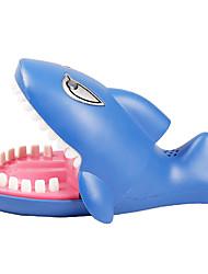 abordables -Gadget pour Blague Accessoire de Maison de Poupées Dentiste de requin Mordre la main Chiens Crocodile Shark Plastique Enfant Adulte Jouet Cadeau