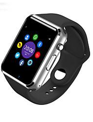 Недорогие -Смарт Часы W8 для Android Израсходовано калорий / Длительное время ожидания / Хендс-фри звонки / Сенсорный экран / Фотоаппарат / Секундомер / Напоминание о звонке / 0.3 мегапикс.
