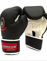 cheap -Sports Gloves For Boxing Full Finger Gloves Adjustable Sunscreen Breathable PU(Polyurethane) Black Red