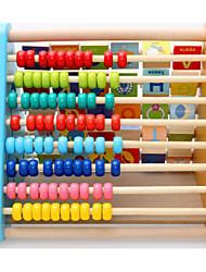 Недорогие -Игрушечные счеты Деревянные часы Игрушки для обучения математике Квадратный Образование Игрушки для рисования Игрушки Подарок